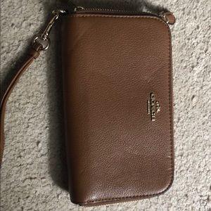 Coach Double Zipper Wallet